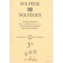 Lemoine Solfege 3A