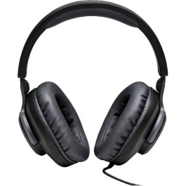 JBL Quantum 100, Over-Ear Wired Gaming Headset (Black)