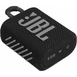 JBL GO 3, Portable Bluetooth Speaker, Waterproof IP67, (Black)