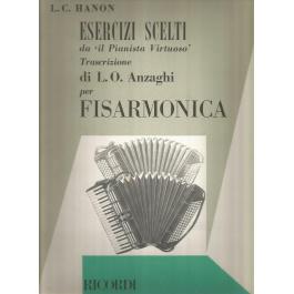 Hanon Esercizi scelti da Il pianista virtuoso Trasrizione per Fisarmonica
