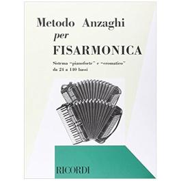 Anzaghi – Metodo Completo per Fisarmonica