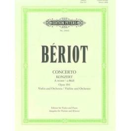 Beriot konzert op.104 Edition Peters