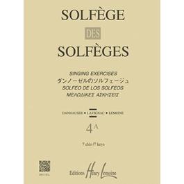 Solfege des Solfeges Vol.4A