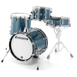 LUDWIG Breakbeats Azur Blue Sparkle