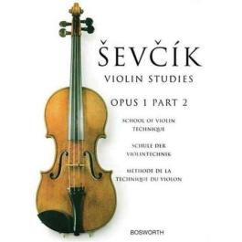 SEVCIK – Studies Op.1 N. 2 Σπουδές για βιολί, Op.1 τεύχος II