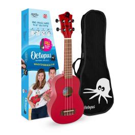 UK205 New 2021 soprano ukulele candy apple red