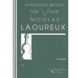 Laoureux Nicolas- Μέθοδος για βιολί Μέρος 1ο