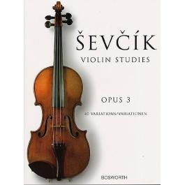 Sevcik – Violin Studies, 40 Variations, Op.3
