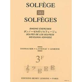 Solfege Des Solfeges Vol.3F