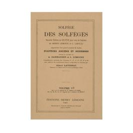 Solfege Des Solfeges Vol.5B