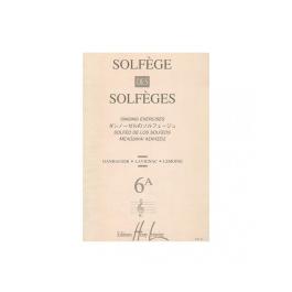 Solfege Des Solfeges, Vol.6A