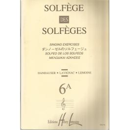 Lemoine Solfege 6A