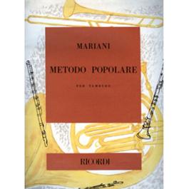 Metodo Popolare per tamburo-Mariani