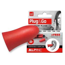 Alpine Plug&Go ωτοασπίδες σφουγγαράκια